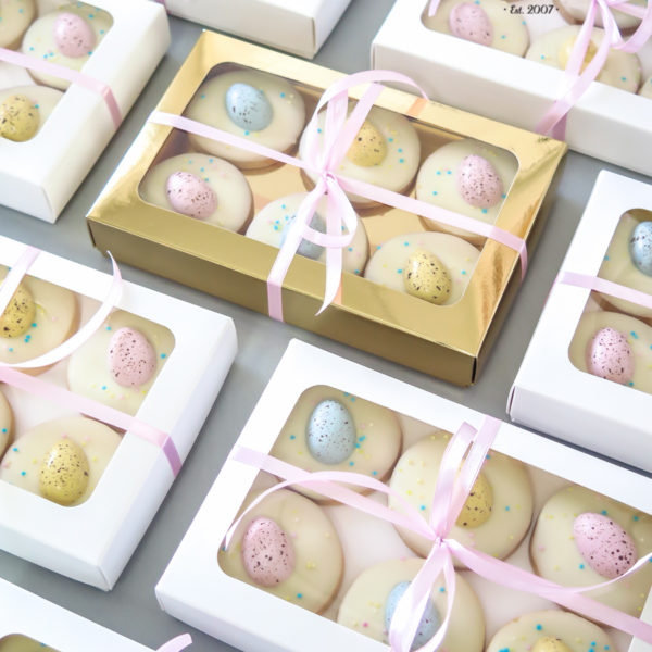 SW109 - ciastka kruche, świąteczne, pisanki, dla firm, słodycze firmowe, reklamowe, personalizowane, warszawa, świąteczne, prezenty, wielkanoc, handmade, jaja wielkanocne