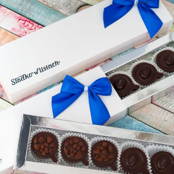 SW110 - praliny, mini filiżanki, firmowe, dla firm, słodycze firmowe, reklamowe, personalizowane, z dostawą, świąteczne, prezenty
