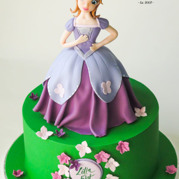 U549 - tort urodzinowy, na urodziny, dla dziewczynki, artystyczny, jej wysokość zosia, księżniczka, tort z dostawą, transportem warszawa, piaseczno, konstancin jeziorna, góra kalwaria, polska