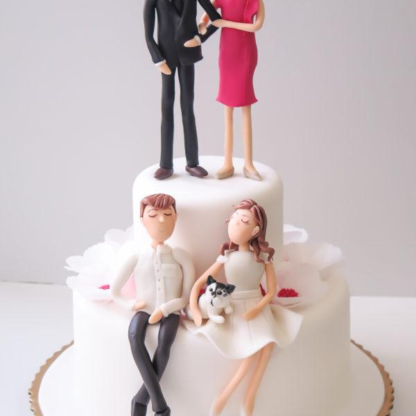 U557 - tort rocznicowy, na rocznicę, artystyczny, rodzinny, rodzina, tort z dostawą, transportem warszawa, piaseczno, konstancin jeziorna, góra kalwaria, polska