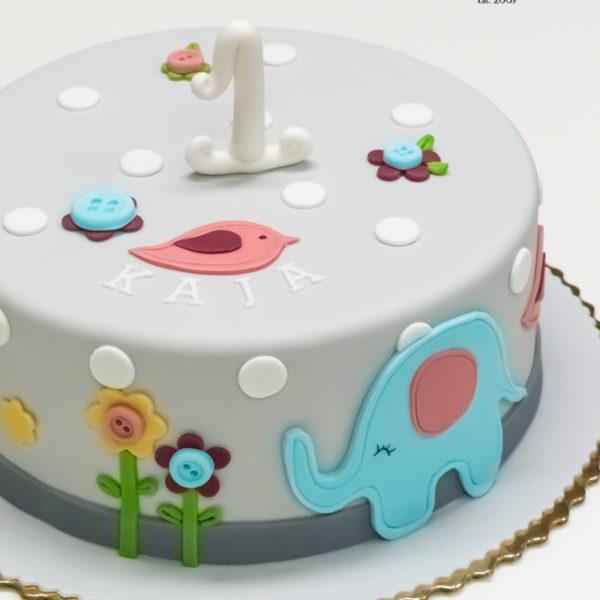 U572 - tort urodzinowy, na urodziny, dla dzieci, artystyczny,słonik, na roczek, tort z dostawą, transportem warszawa, piaseczno, konstancin jeziorna, góra kalwaria, polska