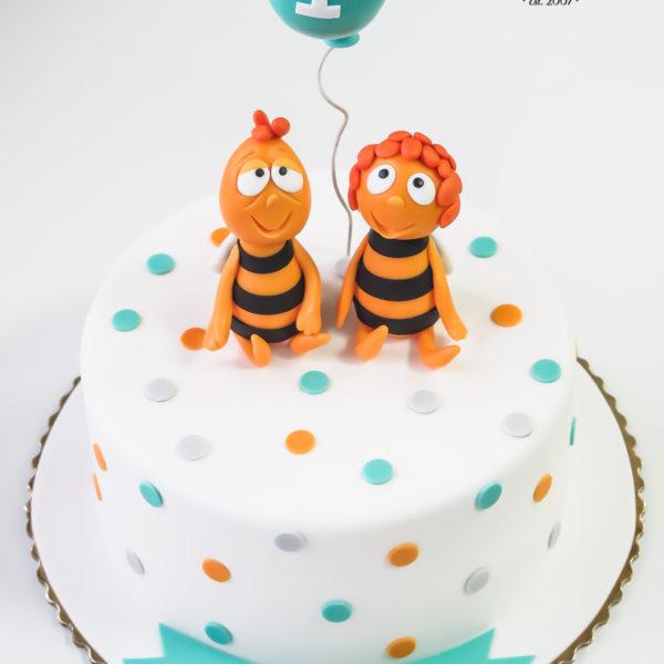 U575 - tort urodzinowy, na urodziny, dla dzieci, artystyczny, pszczółka maja, tort z dostawą, transportem warszawa, piaseczno, konstancin jeziorna, góra kalwaria, polska