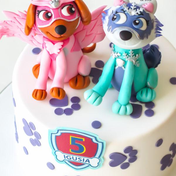 U577 - tort urodzinowy, na urodziny, dla dzieci, artystyczny, psi patrol. kosmopieski, tort z dostawą, transportem warszawa, piaseczno, konstancin jeziorna, góra kalwaria, polska