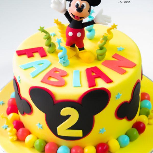 U590 - tort urodzinowy, na urodziny, dla dzieci, artystyczny, myszka mickey, miki, tort z dostawą, transportem warszawa, piaseczno, konstancin jeziorna, góra kalwaria, polska