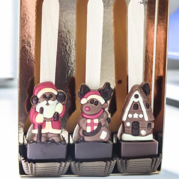 SW131 - czekoladowe łyżeczki, do mleka, łyżeczki z czekoladą, dla firm, słodycze firmowe, reklamowe, personalizowane, świąteczne, prezenty, boże narodzenie, z dostawą, warszawa, piaseczno, konstancin jeziorna, polska, europa