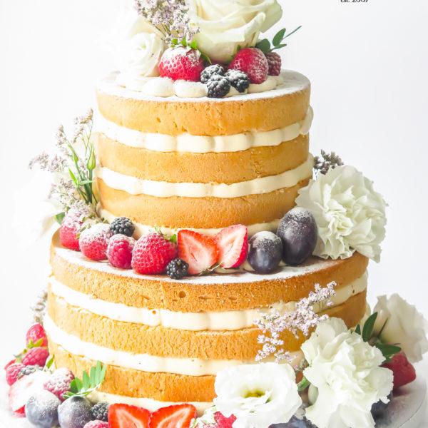 LM111 - tort urodzinowy, na urodziny, z owocami, naked, z kwiatami, w kremie, last minute, na ostatnią chwilę, bez masy cukrowej, cukiernia z dostawą, transportem, dostawą, Warszawa, Piaseczno, Konstancin Jeziorna,, Otwock, Góra kalwaria, Wilanów