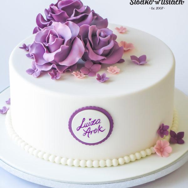 S86 - tort na ślub, wesele, ślubny, weselny, artystyczny, elegancki, wyjątkowy, piętrowy , z kwiatami, warszawa, z dostawą, transportem, cukiernia, piaseczno, konstancin jeziorna, otwock,