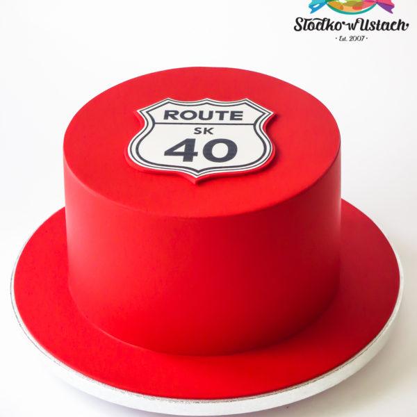 U632 - tort urodzinowy, na urodziny, artystyczny, wyjątkowy, na 40, cukiernia z dostawą, transportem, dowozem, warszawa, piaseczno, konstancin jeziorna, góra kalwaria, otwock