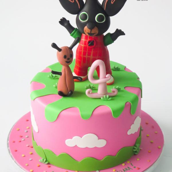 U633 - tort, urodzinowy, na urodziny, króliczek bing, artystyczny, dla dzieci, najlepsze torty, z dostawą, z transportem, dowozem, cukiernia, warszawa, piaseczno, konstancin jeziorna, góra kalwaria, wilanów, otwock