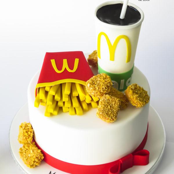 U635 - tort urodzinowy, na urodziny, artystyczny, wyjątkowy, mc donalds, cukiernia z dostawą, transportem, dowozem, warszawa, piaseczno, konstancin jeziorna, góra kalwaria, otwock