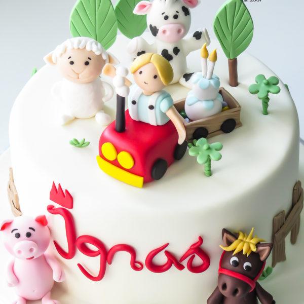 U659 - tort urodzinowy, na urodziny, artystyczny, wyjątkowy, farma ze zwierzątkami, zwierzątka, najlepsze, najpiękniejsze, torty,cukiernia z dostawą, transportem, dowozem, warszawa, piaseczno, konstancin jeziorna, góra kalwaria, otwock
