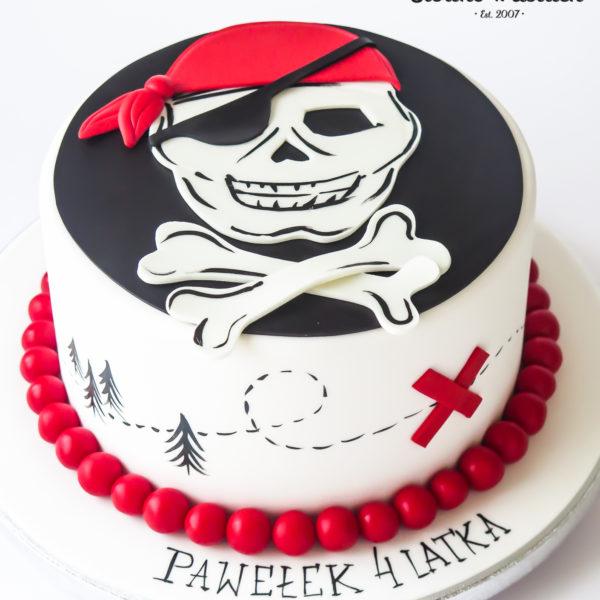 U661 - tort urodzinowy, na urodziny, artystyczny, wyjątkowy, dla pirata, piracki, najlepsze, najpiękniejsze, torty,cukiernia z dostawą, transportem, dowozem, warszawa, piaseczno, konstancin jeziorna, góra kalwaria, otwock