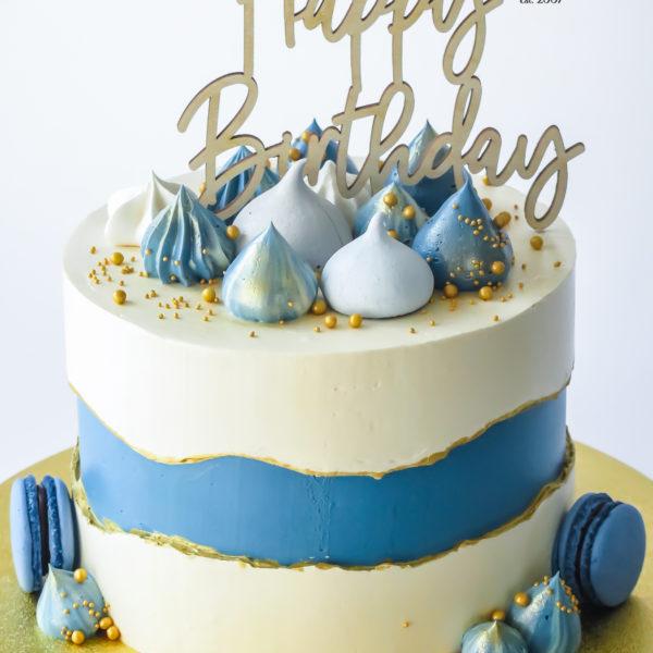 U670 - tort urodzinowy, na urodziny, artystyczny, wyjątkowy, elegancki, złocony, topper, fault line, w kremie, bez masy cukrowej, cukiernia z dostawą, transportem, dowozem, warszawa, piaseczno, konstancin jeziorna, góra kalwaria, otwock