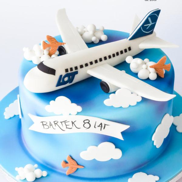 U674 - tort urodzinowy, na urodziny, artystyczny, wyjątkowy, z samolotem, dla chłopca, najlepsze, najpiękniejsze, torty,cukiernia z dostawą, transportem, dowozem, warszawa, piaseczno, konstancin jeziorna, góra kalwaria, otwock