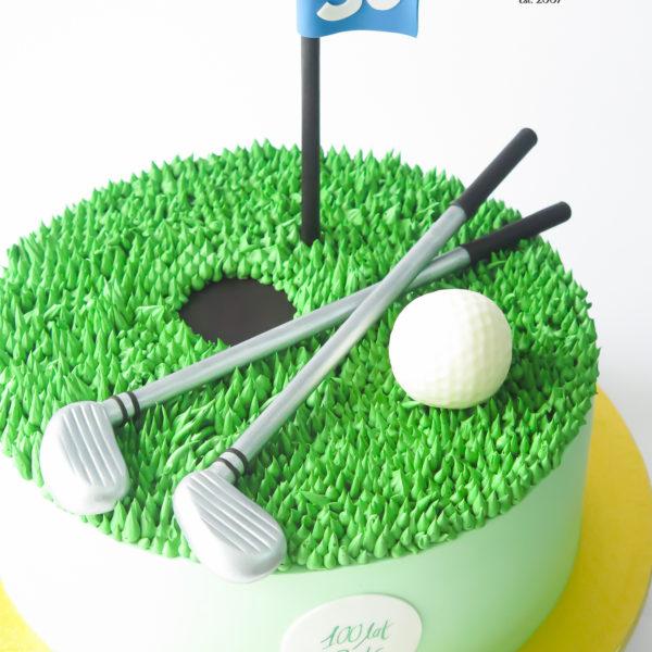U705 - tort urodzinowy, na urodziny, artystyczny, wyjątkowy,golf, dla golfisty, pole golfowe, kije golfowe, dla męża, męski, w kremie, bez masy cukrowej, najlepsze, najpiękniejsze torty,cukiernia z dostawą, transportem, dowozem, warszawa, piaseczno, konstancin jeziorna, góra kalwaria, otwock