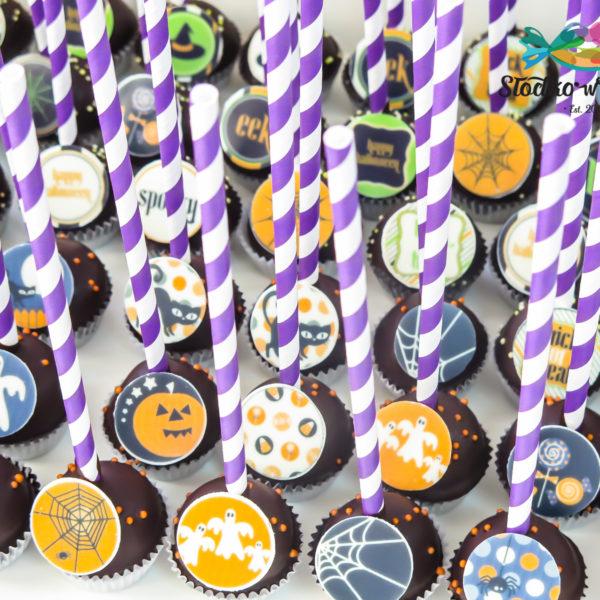 C204 - cake pops, lizaki, prezenty, halloween, dia de los muertos, słodki stół, kącik, candy, bar , warszawa, z dostawą, polska