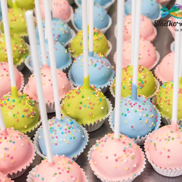 C216 - cake pops, lizaki, prezenty, słodki stół, kącik, candy, bar , firmowe, event, warszawa, z dostawą, polska