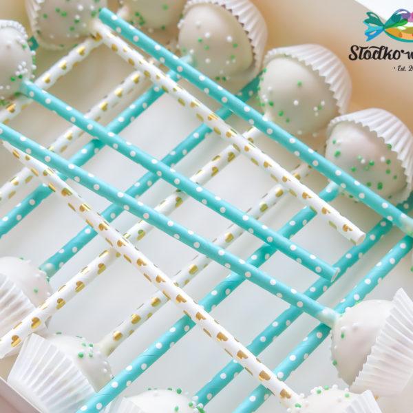 C226 - cake pops, lizaki, prezenty, słodki stół, kącik, candy, bar , firmowe, event, warszawa, z dostawą, polska