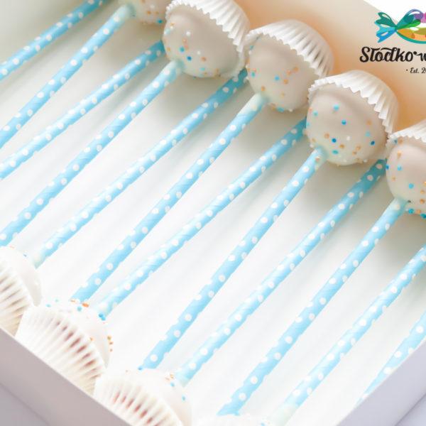 C233 - cake pops, lizaki, prezenty, słodki stół, kącik, candy, bar , firmowe, event, warszawa, z dostawą, polska