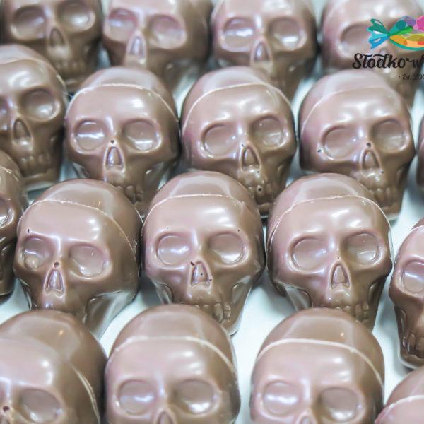 C265 - czekoladowe czaszki, czachy, prezenty, halloween, dia de los muertos, słodki stół, kącik, candy, bar , warszawa, z dostawą, polska