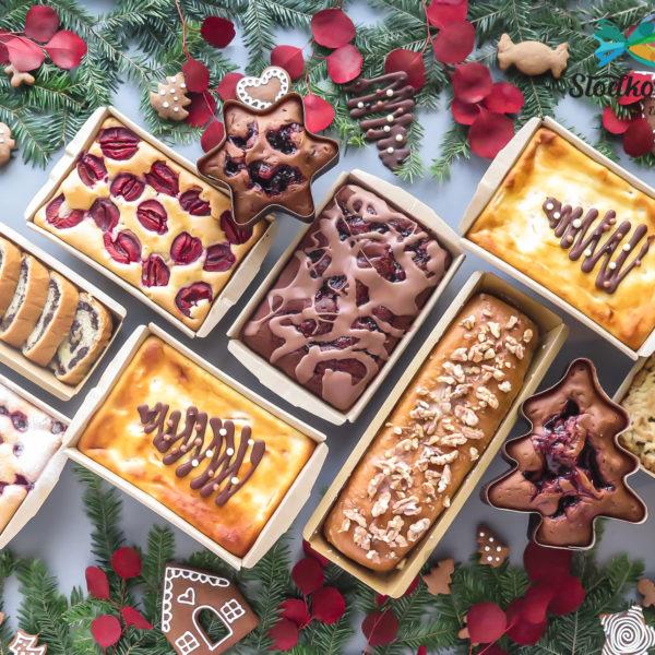 C272 - ciasta świąteczne, na boże narodzenie, makowiec, piernik, szarlotka, sernik, placek z owocami, czekolada, z logo, firmowe, naturalne, dla firm, słodycze firmowe, reklamowe, personalizowane, z dostawą, świąteczne, prezenty, na boże narodzenie, warszawa, piaseczno, konstancin jeziorna, polska, europa