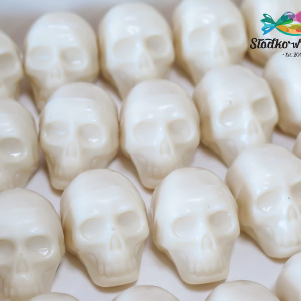 C301 - czekoladowe czaszki, czachy, prezenty, halloween, dia de los muertos, słodki stół, kącik, candy, bar , warszawa, z dostawą, polska